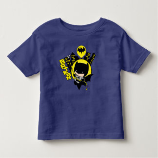 Chibi Batman die de Stad schrapen Kinder Shirts