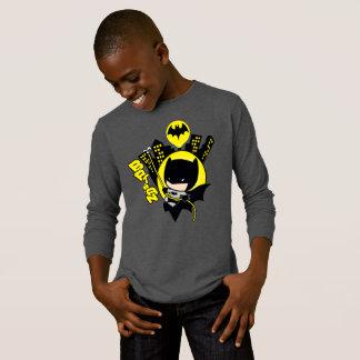 Chibi Batman die de Stad schrapen T Shirt