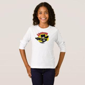Chibi Batman in Batmobile T Shirt