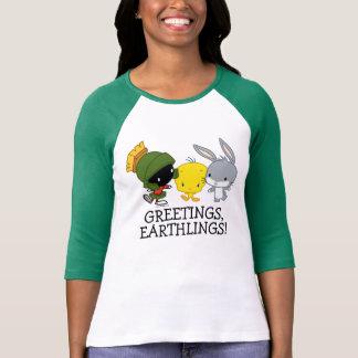 Chibi MARVIN MARTIAN™, TWEETY™, & de INSECTEN T Shirt