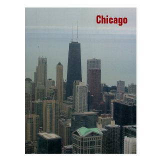 Chicago en Meer Michigan Briefkaart
