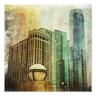 Chicago Foto Afdruk