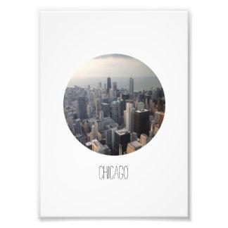 Chicago Foto Afdrukken