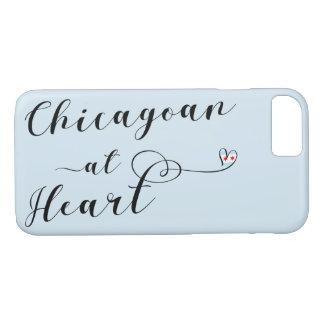 Chicagoan bij Hoesje van de Telefoon van het Hart