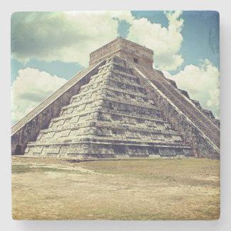 Chichen Itza Gr Castillo Stenen Onderzetter