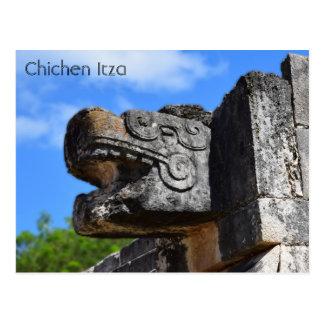 Chichen Itza Mexico Kukulkan Waxaklahun Ubah Kan Briefkaart
