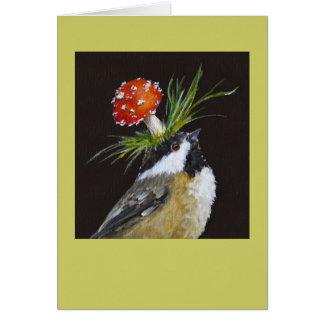 chickadee kaart (Blythe)