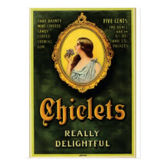 chiclets briefkaart