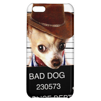 chihuahua cowboy - sheriffhond hoesjes voor iPhone 5C