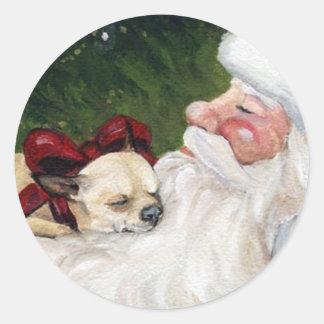 Chihuahua en de Sticker van de Kunst van de