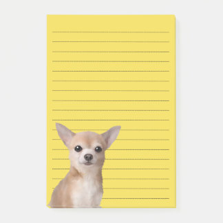 Chihuahua illustreerde Nota's Post-it® Notes
