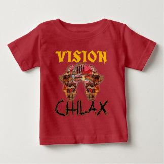 Chilax ontspant Afrikaanse Prachtige Visie uw Baby T Shirts