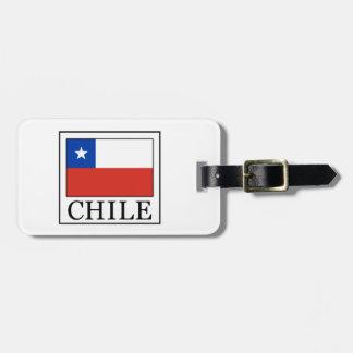 Chili Kofferlabel