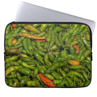 Chilis voor Verkoop bij Markt Computer Sleeve