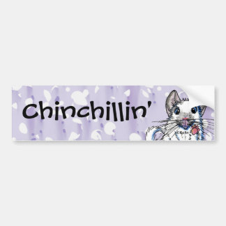 Chinchilla Bumpersticker