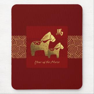 Chinees Jaar van de Gift Mousepad van het Paard Muismat