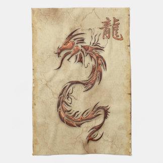 Chinees Jaar van de Handdoek van Azië van de Draak