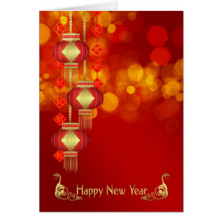 Chinees Nieuwjaar - Jaar van de Slang met Kaart