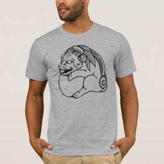 Chinese de leeuwshishi van Netsuke T Shirt