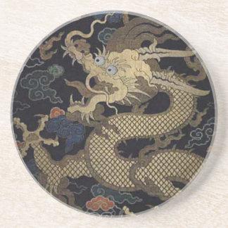 Chinese Draak Zandsteen Onderzetter