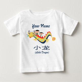 """Chinese Engelse T-shirt de vliegende van """"Weinig"""