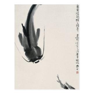 Chinese Katvis Briefkaart