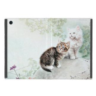 Chinese Kunst Twee van de Kat Katten iPad Mini Hoesje