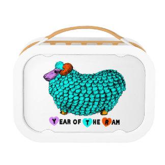 Chinese Lunchbox van de Douane van het Jaar T van