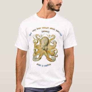 Chinese octopuswijsheid t shirt
