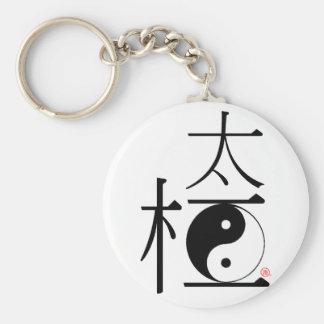 Chinese Tai Chi Ying Yang Sleutelhanger