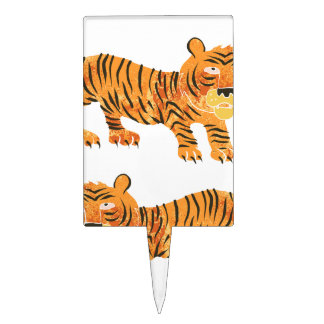 Chinese tijger cake topper