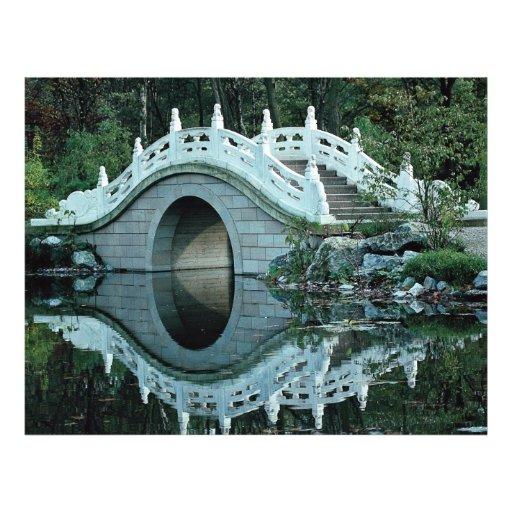 Chinese tuin, Duisburg Dierentuin, Duitsland Persoonlijke Folder