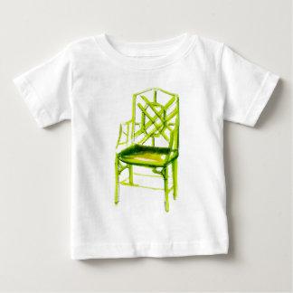 chinoiserie stoel voor plaatskaart baby t shirts