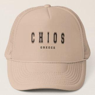Chios Griekenland Trucker Pet