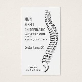 Chiropracticus/de Kaart van de Benoeming Visitekaartjes
