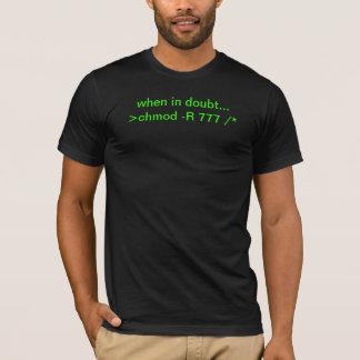 chmod de Wereld T Shirt