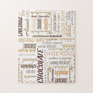 Chocolade, Amandelen en de Donkere Wolk van Word Puzzel