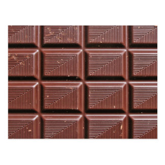 Chocolade Briefkaart