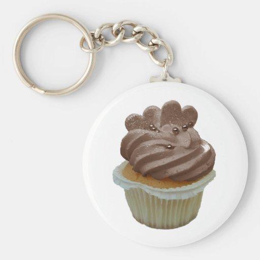 Chocolade Cupcake Sleutel Hanger