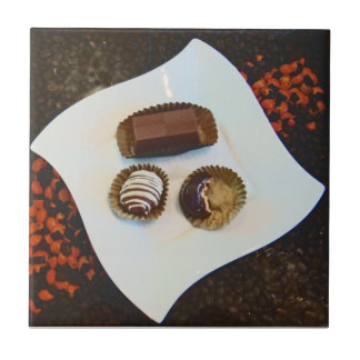 Chocolade van Peru-ook Te verzetten tegen Goed zic Tegeltje