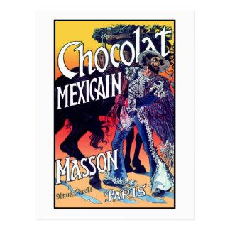 Chocolat Mexicain door Grasset Briefkaart