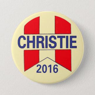 Chris Christie 2016 Ronde Button 7,6 Cm