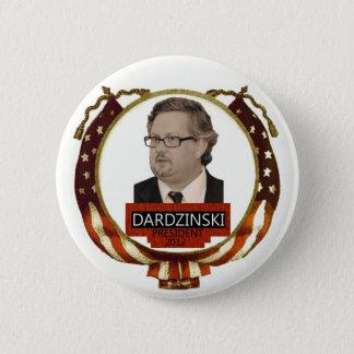 Chris Dardzinski voor President 2012 Ronde Button 5,7 Cm