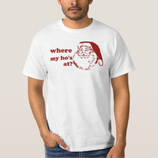 Chrismas van Kerstmis waar santa grappige humor T Shirt