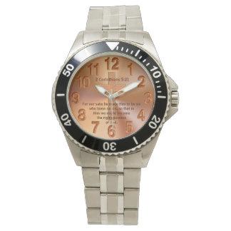 Christelijk Horloge met Uw Favoriet Vers van de