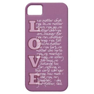 Christelijk iPhone5/5s hoesje: De liefde van de Va Barely There iPhone 5 Hoesje