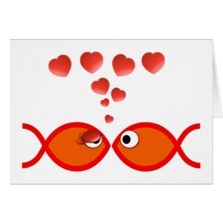 Christelijk Valentijn Oranje v2 Kaart