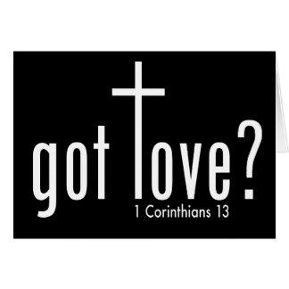 """Christelijke """"gekregen liefde?"""" Gevouwen Kaart"""