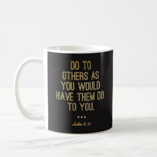 """Christelijke Mokken - """"doe aan anderen"""" Gouden"""