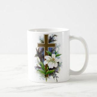 ~ Christelijke Pasen DwarsMug~ Koffiemok